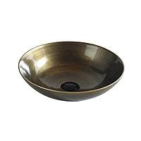Раковина-чаша для хамам бронзовая . Арт.6203