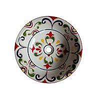 Раковина-чаша для хамам с декором. Арт.4364