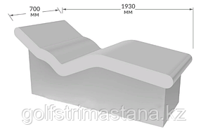 Лежак для хамам, «Corpo» («Корпо»)