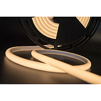 Термостойкая светодиодная лента для саун и хамам. Теплый белый