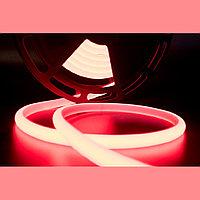 Термостойкая светодиодная лента для саун и хамам. Красный