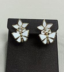 Золотые серьги с бриллиантами / Roberto Bravo