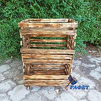 Ящик- стеллаж для хранения овощей и фруктов. Модель №5