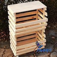 Ящик- стеллаж для хранения овощей и фруктов. Модель №7