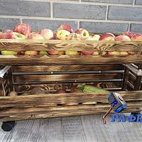 Ящик для овощей и фруктов, яблок и картошки. Модель №2