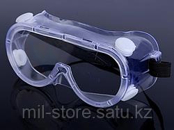 Очки защитные с клапаном
