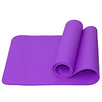 Гимнастический коврик для йоги, фитнеса Atemi AYM05PL 183x61x1,0 см NBR purple