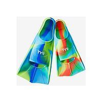 Ласты тренировочные TYR Stryker Kids Silicone Fin LFYSTRKR/999 Multicolor р-р XS