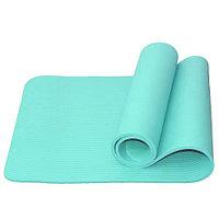 Гимнастический коврик для йоги, фитнеса Atemi AYM05BE 183x61x1,0 см NBR turquoise