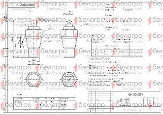 ДУТЖ-02 Датчик МТЗ, МАЗ указателя температуры жидкости (штекер), Беларусь