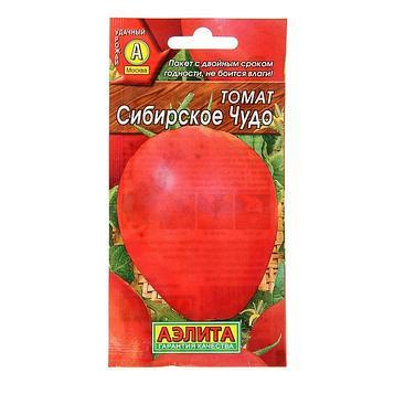 """Семена Томат """"Сибирское чудо"""", 0,1 г"""