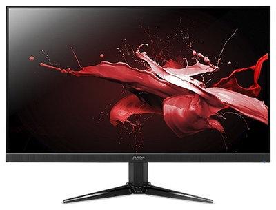 Монитор 23.8 Acer NITRO QG241Ybii, черный