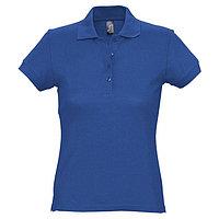 Рубашка поло женская PASSION 170, размер M, цвет ярко-синий