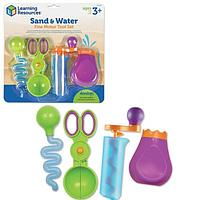 Набор игрушечных инструментов «Щипчики Маленькие ручки. Вода и песок», 4 элемента