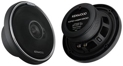 Колонки автомобильные Kenwood KFC-HQR1600, черный