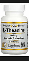 L - Theanine Теанин 100  мг 60 капсул. Усиленная формула.