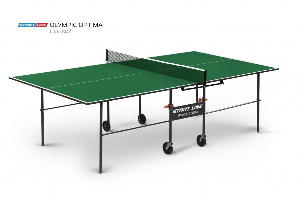 Теннисный стол Olympic Optima green