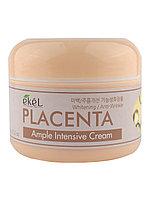 Ekel Интенсивный ампульный крем с плацентой Placenta Ample Intensive Cream