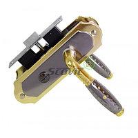 Дверная ручка APL BK 3048-07 BN/GP