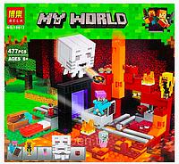 """Конструктор Bela 10812 Minecraft """"Портал в подземелье"""""""