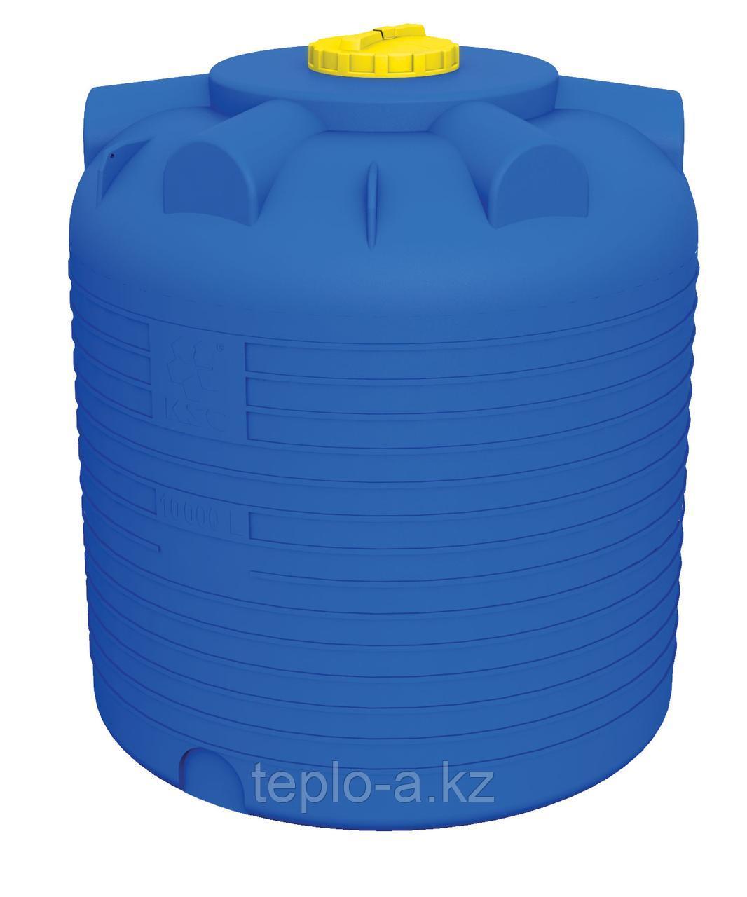 Емкость цилиндрическая 750 литров для воды, дизельного топлива