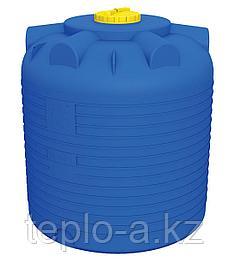 Емкость цилиндрическая 2000 литров для воды, дизельного топлива