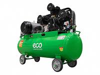 Компрессор (580 л/мин, 8 атм, ременной, масляный, ресив. 100 л, 380 В, 3.00 кВт) ECO AE-1005-2