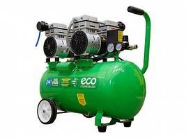 Компрессор (280 л/мин, 8 атм, коаксиальный, безмасляный, ресив. 50 л, 220 В, 1,6 кВт) ECO AE-50-OF1