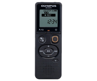 Диктофон цифровой Olympus VN-541PC Black + наушники E39