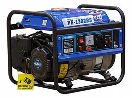 Электростанция (генератор бензиновый) (1.1 кВт, 230 В, бак 6.0 л, вес 23 кг) ECO PE-1302RS