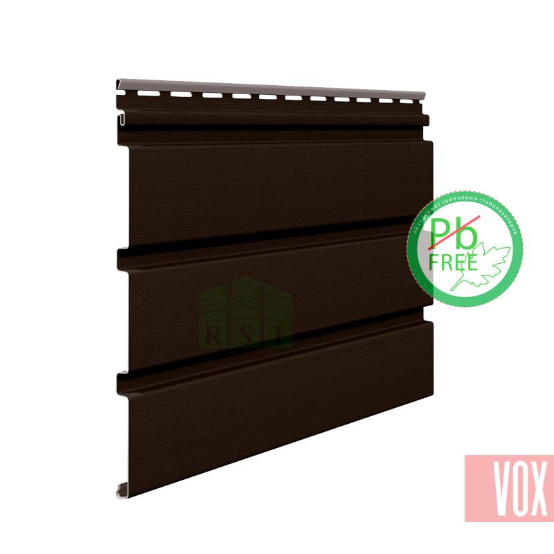 Софит виниловый VOX SV-08 Unicolor (без перфорации, темно-коричневый)