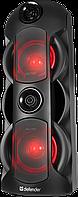 Колонки Defender G78 (2.0) - Black-Red, 70Вт RMS, 40Hz-20kHz, USB, AUX, microSD, FM, Bluetooth