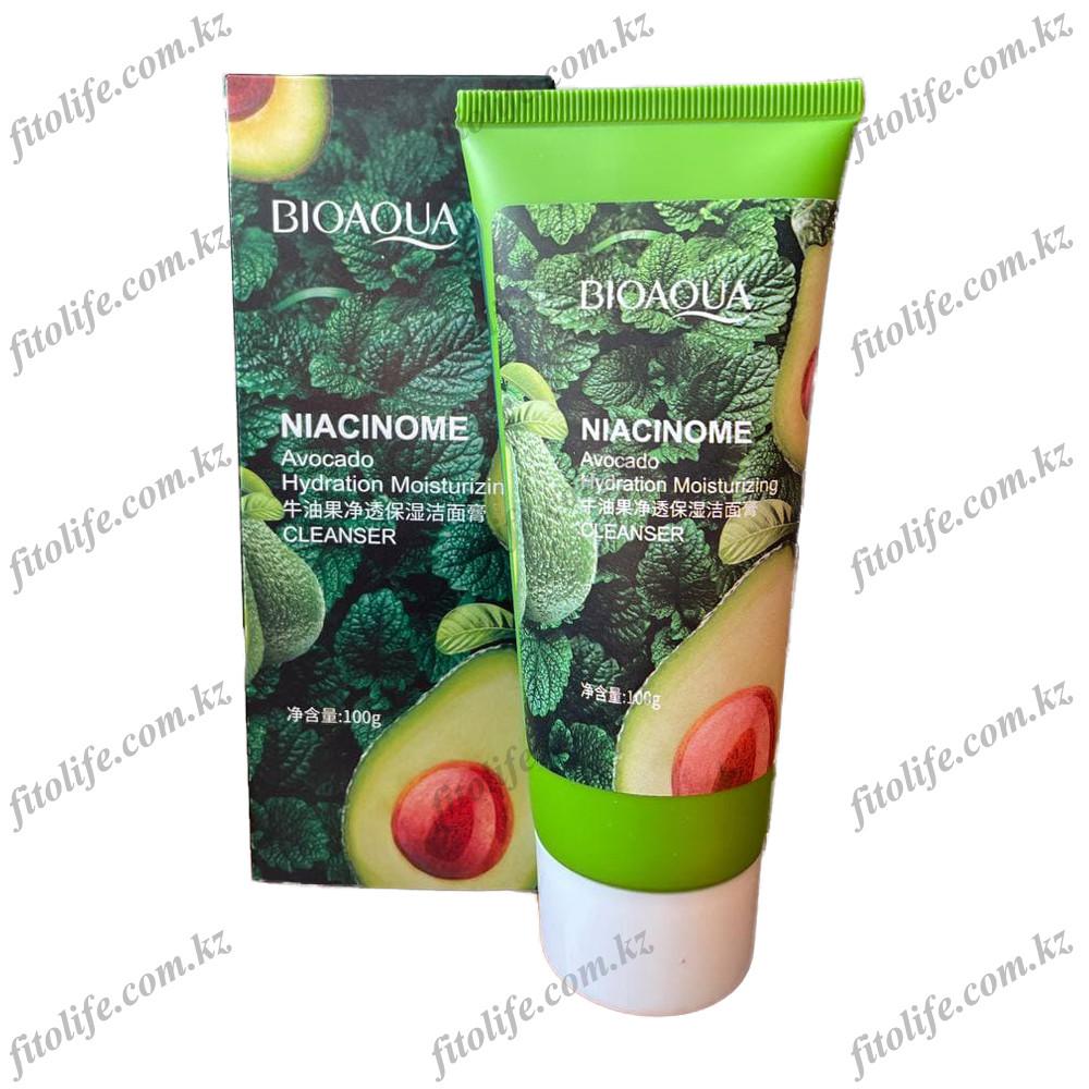 Питательное и увлажняющие средство для умывание Bioaqua,авокадо