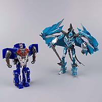 Changerobot: два робота-трансформера, синий-голубой