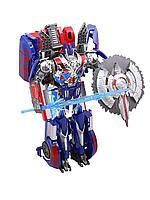 Changerobot: робот-трансформер с акс., синий