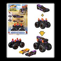 Машинки Hot Wheels Monster trucks Создатель монстров черный