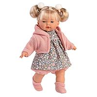 Кукла Аитана 33 см., блондинка в розовом жакете (LLORENS, Испания)