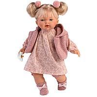 Кукла Ариана 33 см., блондинка в розовом наряде (LLORENS, Испания)
