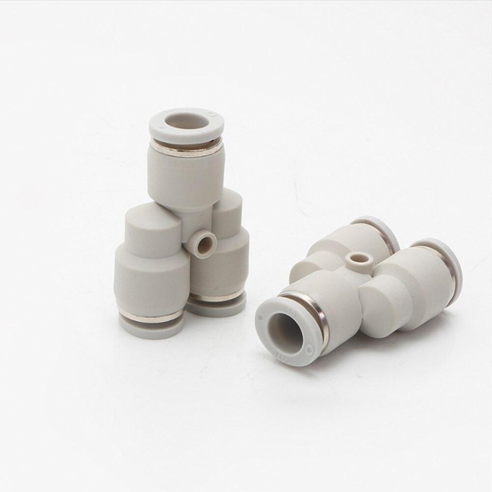 Тройник быстросьемный Y-образный для пневмошлангов 12 мм.