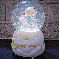 """Музыкальный снежный шар """"Fairy tales"""", 16см., фото 1"""