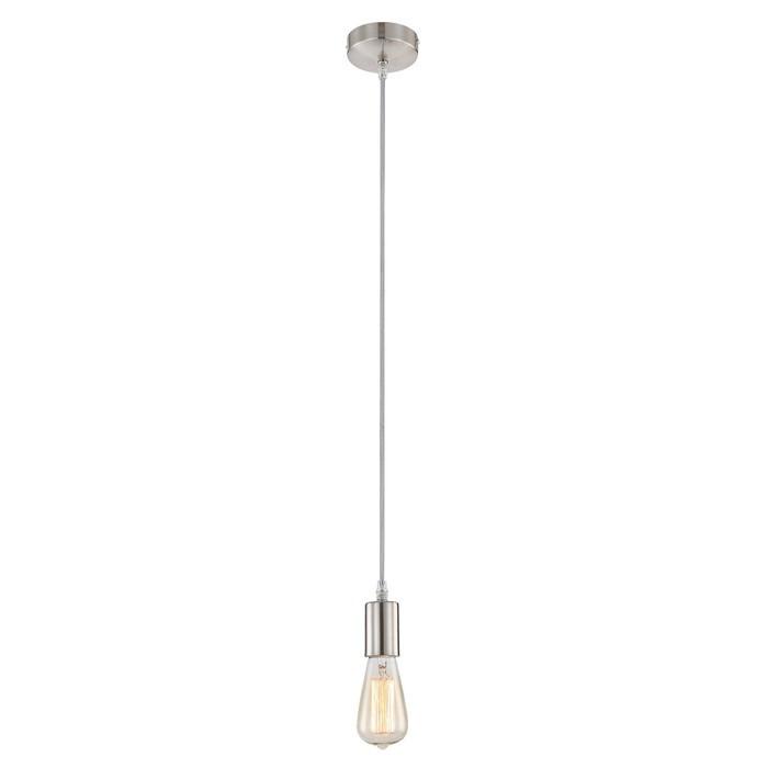 Светильник NOEL, 60Вт E27, матовый никель