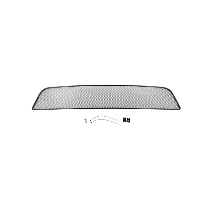 Сетка на бампер внешняя для MITSUBISHI Pajero Sport 2010-2013, черн., 10 мм