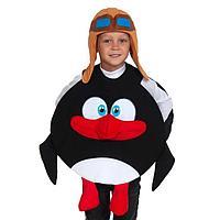 Карнавальный костюм «Пингвин Пин», Смешарики, р. 28, 3-5 лет, рост 104-116 см