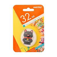 "Флешка Smartbuy Wild series ""Котенок"", 32 Гб, USB2.0, чт до 25 Мб/с, зап до 15 Мб/с"