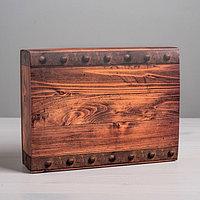 Коробка для сладостей 'Ящик', 20 x 15 x 5 см (комплект из 5 шт.)