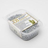 Грунт для аквариумов 'Серебристый металлик' декоративный песок кварцевый 250 г фр.1-3 мм
