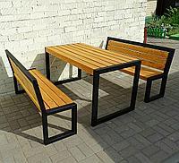 Стол садовый со скамейками скамейка, стол для пикника