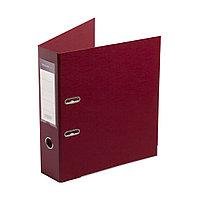 """Папка регистратор Deluxe с арочным механизмом, Office 3-WN8 (3"""" WINE), А4, 70 мм, бордовый"""