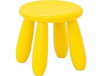 """Стул IKEA Маммут """"детский"""" желтый"""