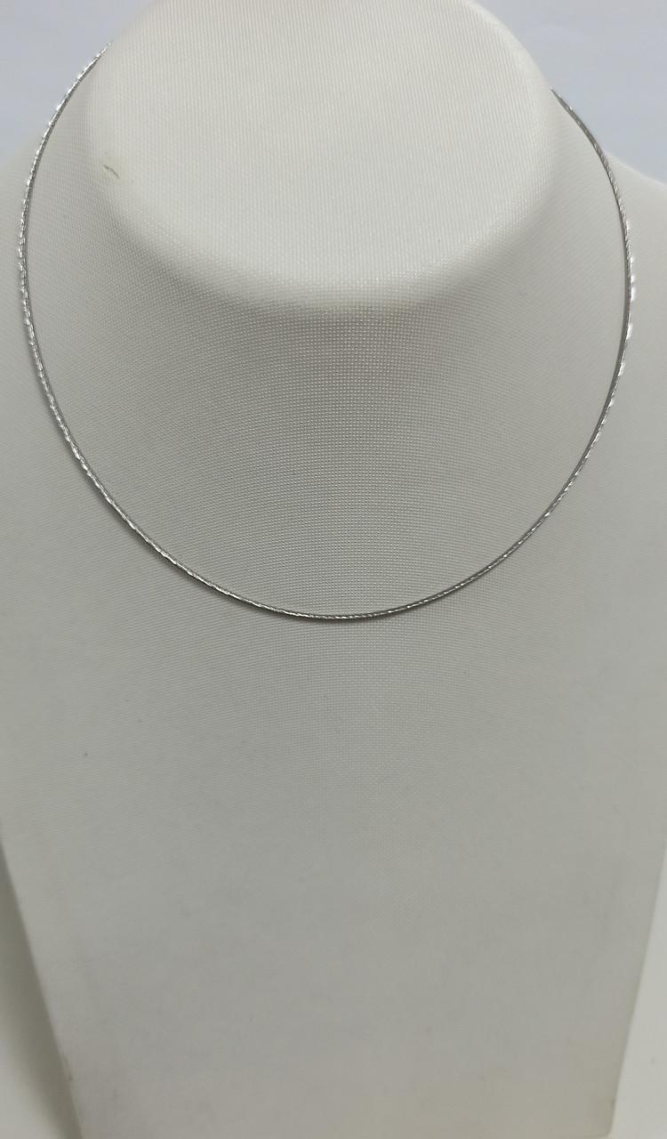 Цепочка серебро размер 40 см.